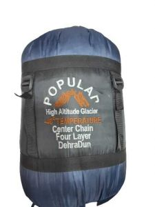 Popular High Attitude Glacier Sleeping Bag - Navy Blue/Black
