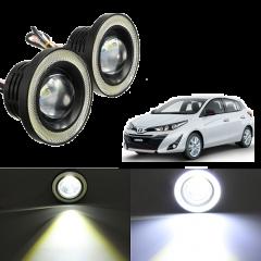Cars Fog Light, Angel Eye Fog Lamp for Yaris 2019, Car