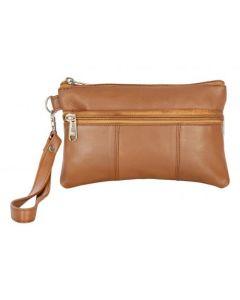 ASPENLEATHER Wristlet Bag for Womens