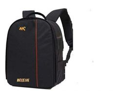 Move On Waterproof DSLR Backpack Camera Bag/ Lens Accessories Carry Case for Nikon, Canon, Olympus, Pentax & Others