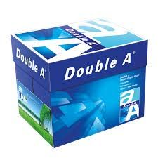 Double A School/Office Essentials A4 Sheets, 75 GSM, 500 Sheets, 5 Ream (White)