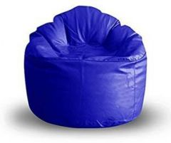 VSK Bean Bag Sofa MUDDA Cover XXXL 35 * 35 * 15 INCH (Without Beans) Original Size - Blue