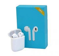 RSFutur eTwins l-11s Headphones Bluetooth 5.0 Earphone Wireless Earbuds Bluetooth Headset (White, True Wireless)