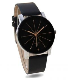 Stylish & Fashionable With Rounded Shape Watch For Men's & Boy's (Multi-Color ) | Pack of 1
