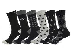 Fragrance Cotton Men's Formal Socks Pack of 5
