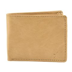 Winsome Deal Trendy, Fashionable New Look, Casual Artificial Leather Wallet Perfect for Mens (Tan)