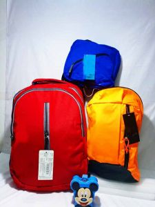 Casual 3pc Unisex Backpack Combo Set1 Big Backpack 1 Medium Size Backpack 1 pc Tiffin Bag (Pack of 3)