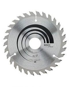 Bosch 2608642941 TCT Wood Circular Saw Blade, 110 x 20, 30 Teeth, Standard