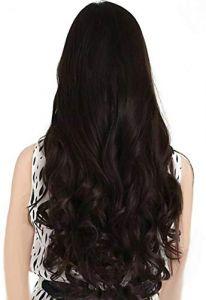 Akashkrishna Women's Natural Curly/Wavy Hair Extensions
