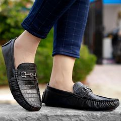 Bxxy Men's Stylish Casual Faux Leather Driving and Loafers New Arrivals Shoes Style: 588A