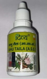 Divya Anu Tail Patanjali -20ml Pack of 2