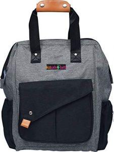 Move On - Diaper Bag (3 Kidsafe Diaper Bag Grey & Black)