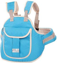 Move On Two Wheeler Safety Belt (4 Sky Blue New)
