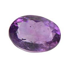Jewelzon Certfied Amethyst (Kathela) 8.25 to 8.80 Ratti Birthstone Stone | Certified | Astrological Gemstone | Natural