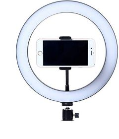 RSFuture 26cm Selfie LED Ring Light Without Tripod Stand (Only Selfie Ring)
