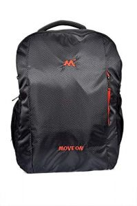 Move On Laptop Bags 15.6-inch Everyday Laptop Backpack (Pack of 2-Black)
