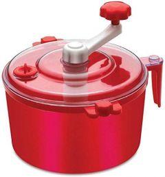 Khodiyarfashion Plastic Manual Automatic Atta Roti Dough Maker- for Home (Red)