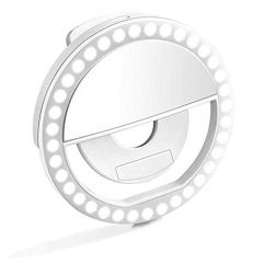 GGS Rechargeable Selfie Portable Ring Light