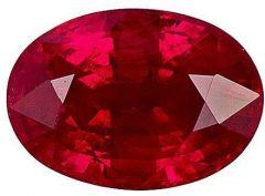 Jewelzon Certfied Ruby (Manik) 3.25 to 3.80 Ratti Birthstone Stone | Certified | Astrological Gemstone | Natural