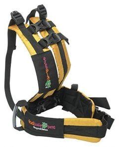 Kidsafe Belt - Two Wheeler Child Safety Belt - Plain Black (7AIR Luxor Yellow New)