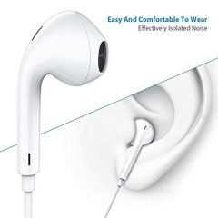 GGS Headset for I-Phone - White