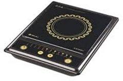 Bajaj 1200 W Splendid Induction Cooker with Carbon Steel   Push Button Controls   1200 w Power Consumption (Black)