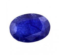 Jewelzon Certfied Blue Sapphire (Neelam) 5.25 to 5.80 Ratti Birthstone Stone   Certified   Astrological Gemstone   Natural