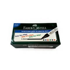 Faber-Castell Office/Schools Essentials White Board Marker (Pack Of 10pc) | (Green)