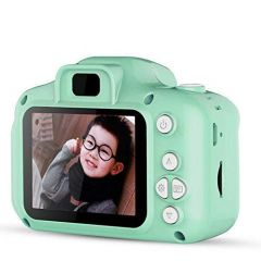 World of Needs Kids Digital Video Rear Camera and Mini Child Camcorder Screen and Shockproof Anti-Fall for Age 3-14, with Front, 2 Inches