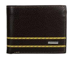 Splash USA Black PU Leather Wallet For Men