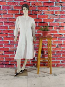 WACA Stylish & Fashionable 100% Cotton Full Sleeves Designer Fancy Kurti With Chikankari Embroidery for Women's (Pack of 1) | (Color: Pearl White)