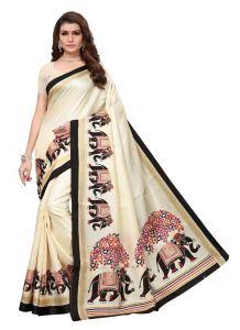 Women's Stylish & Comfortable Khadi (Beige | 5.5-6mtrs)