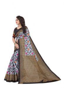 Women's Fashionble & Stylish Silk Saree (Multi | 5.5-6mtrs)