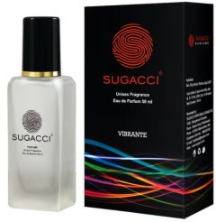 Sugacci Vibrante Eau de Refreshing Unisex Perfume for Men & Women 50ml (Pack of 1)