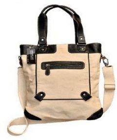 ASPENLEATHER Khaki Faux Leather Shoulder Bags