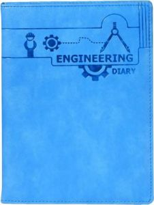 Toss Engineering Diary B5 Diary Single Rule 330 Pages (Blue) (Pack Of 1)