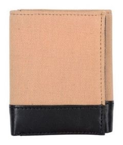 ASPENLEATHER Genuine Beige Leather RFID Blocker Wallet For Men