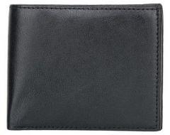 ASPENLEATHER Genuine Leather Bi-Fold Wallet For Men (Black)