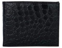 ASPENLEATHER Genuine Leather RFID Blocker Black Wallet For Men