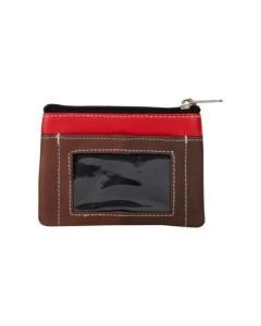 ASPENLEATHER Genuine Leather Multicolor Wallet For Women (Brown)