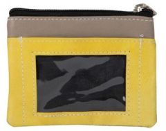 ASPENLEATHER Genuine Leather Multicolor Wallet For Women (Yellow)