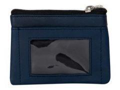 ASPENLEATHER Genuine Leather Multicolor Wallet For Women (Blue)