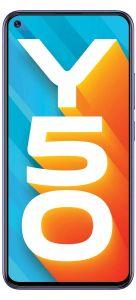 Vivo Y50 Smartphone (Iris Blue, 8GB RAM, 128GB Storage) | Pack of 1