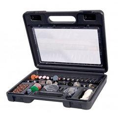 Ferm Bakelite Combitool Accessories Set (Black) -100 Pieces
