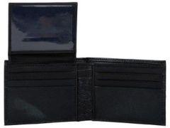 ASPENLEATHER Genuine Leather RFID Black Blocker Wallet For Men