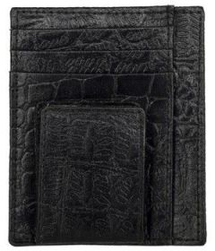 ASPENLEATHER Embossed Leather Wallet for Men