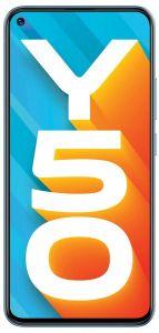 Vivo Y50 Mobile Phone (Pearl White, 8GB RAM, 128GB Storage)