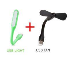 GGS USB Light and Fan Combo