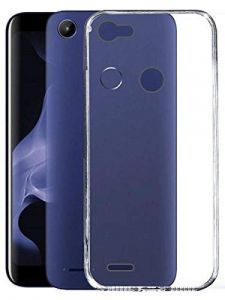 Hummer Tech Back Protective Silicon Soft Transparent Shockproof Back Cover Case for MicroMax Bharat 5 Infinity