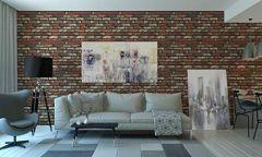 3-D Design Self Adhesive Wallpaper for Living Room| Designer Wallpaper Roll